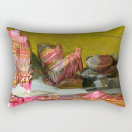 Futuristic 3d Sci-Fi Landscape Digital Art Rectangular Pillow