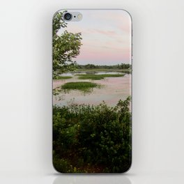 Pennamaquan River at Sunset iPhone Skin