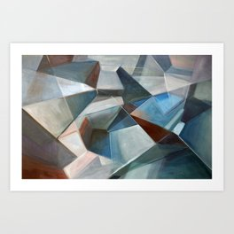 Spacial Abstraction II Art Print