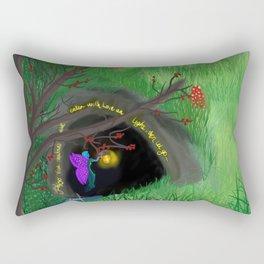 Shadows cave Rectangular Pillow