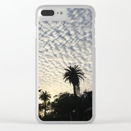Stanyan Clouds Clear iPhone Case