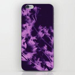 botanical - ultra violet iPhone Skin