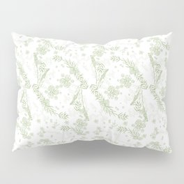 Road Trip Green Pillow Sham