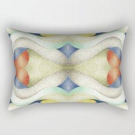 Abstract Air – Blue Rectangular Pillow