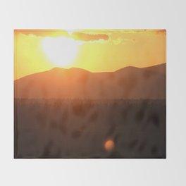 Steamboat Sunrise Throw Blanket