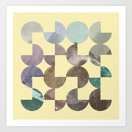 Quarter Quills 4 Art Print