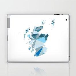Scotland Pattern Map Art Laptop & iPad Skin