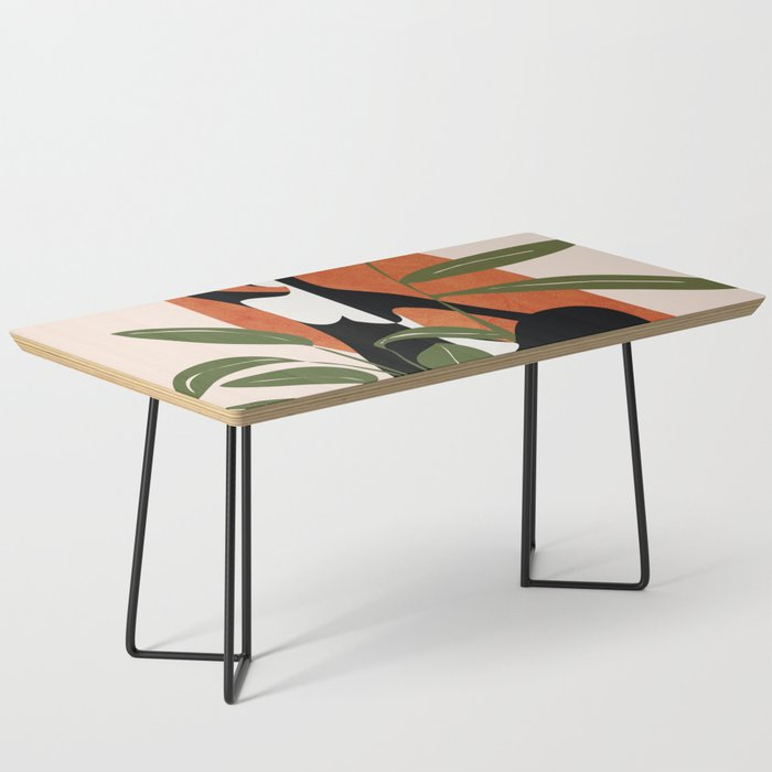 Abstract Female Figure 20 Coffee Table