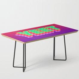 YEET Meme Colorful Typography Coffee Table