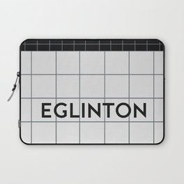 EGLINTON   Subway Station Laptop Sleeve