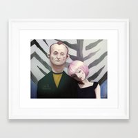 lost in translation Framed Art Prints featuring Lost in translation  by Maripili