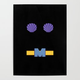 Mermaid Man Poster