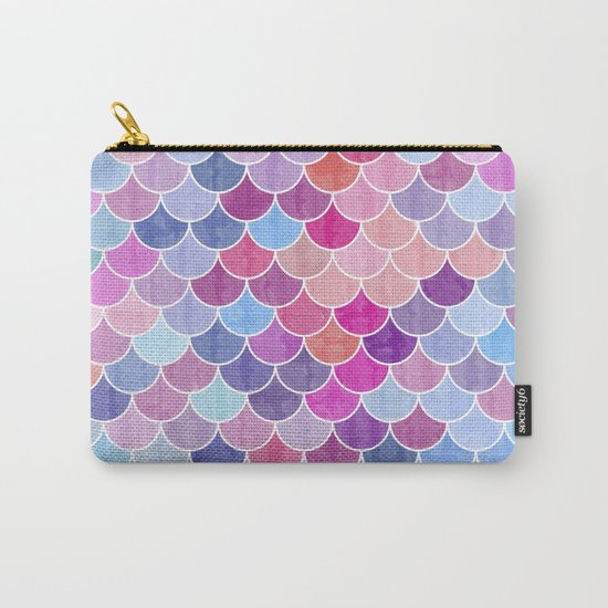 Watercolor Lovely Pattern VIV Carry-All Pouch