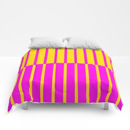 Canary Zebra Plays Piano Comforters