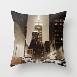 Empire. Throw Pillow