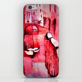 Venice Water colour painting iPhone Skin