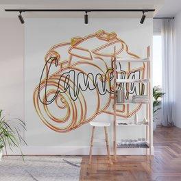 Camera Wall Mural