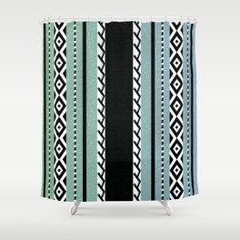 Faux knit cloth sea Shower Curtain