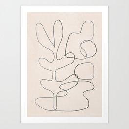 Abstract Line II Art Print