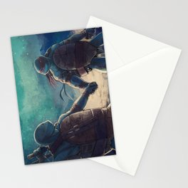 Leonardo and Raphael Stationery Cards