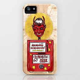 Twilight Zone Mystic Seer iPhone Case