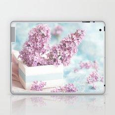 Lilac power in pastel Laptop & iPad Skin