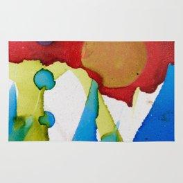 abstract imaginations Rug