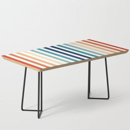 Mod Stripes Coffee Table