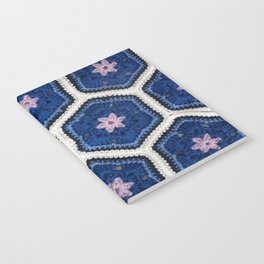 African Flower Crochet Art Notebook