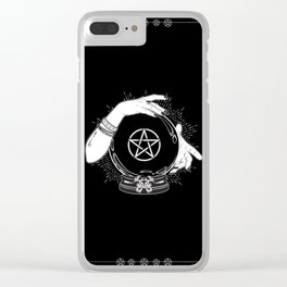 Mystic Fortune Teller Clear iPhone Case