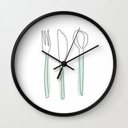 LetsEat Wall Clock