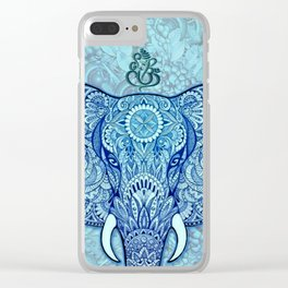 lord-Ganesh-symbol Art Clear iPhone Case