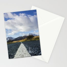 Road To Snowdon Stationery Cards