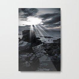 Rocky Coast Metal Print