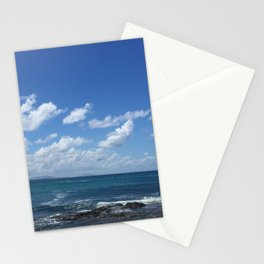 blue skies bright Stationery Cards