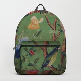 Green Dream Chinoiserie Backpack