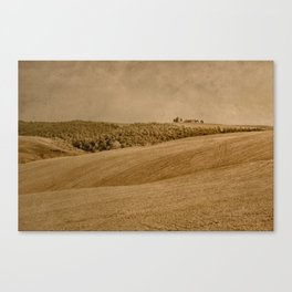 Tuscany - Study 39 Canvas Print