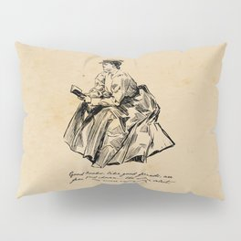 Lousia May Alcott - Good Books Pillow Sham