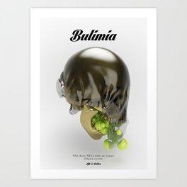 Bulimia Art Print
