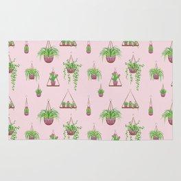 Mother, Macramé I? - Hanging Plants on Pink Rug