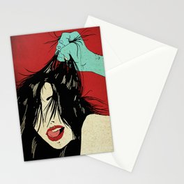 The girl I love... (The Weird Love) Stationery Cards