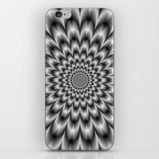 Chrysanthemum in Black and White iPhone & iPod Skin