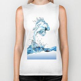 Water Fish Biker Tank