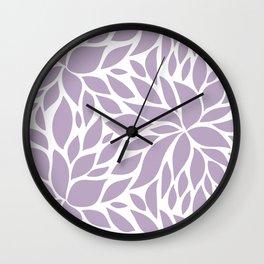 Bloom - Lavender #2 Wall Clock