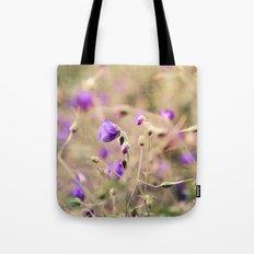 Purple Past Tote Bag