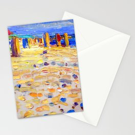 Wassily Kandinsky Beach Scene Stationery Cards