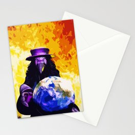 Ominous Earth Stationery Cards