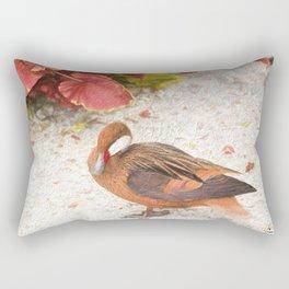 Pintail manipulated Rectangular Pillow