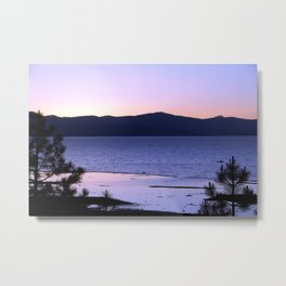 Pink Dreams - South Lake Tahoe, California Metal Print