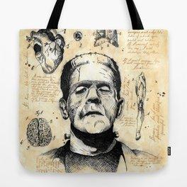 Frankenstein´s Monster Tote Bag